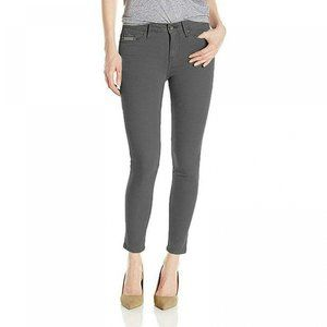 NWT Calvin Klein Ankle Skinny Jeans 12 Charcoal
